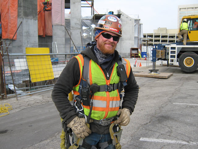 Troy Kofoed Foreman Donahue Mcnamara Steel Llc Is Supervising The Structural Iron Erection